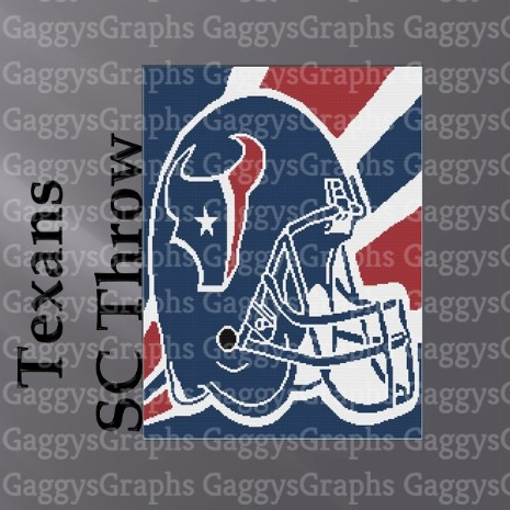 Houston Texans, SC 180x240, Graph, Written Instructions with color coded blocks