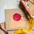 London Gifties wax seal - Happy Mail envelope - perfect as a gift for yourself &