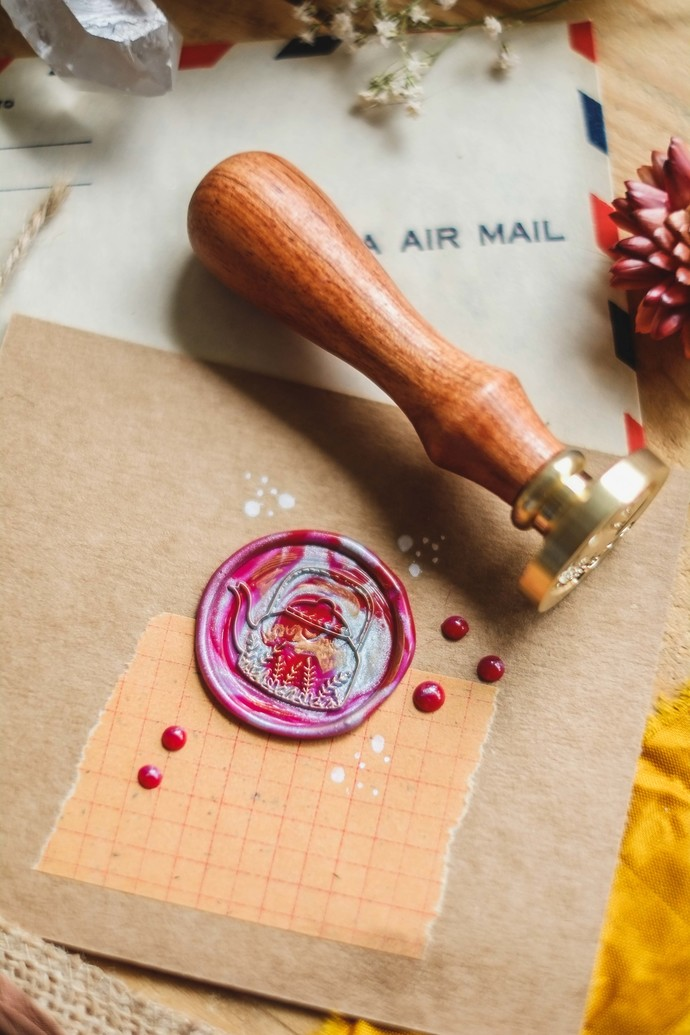 London Gifties wax seal - Herbal Tea Pot - perfect as a gift for yourself & your