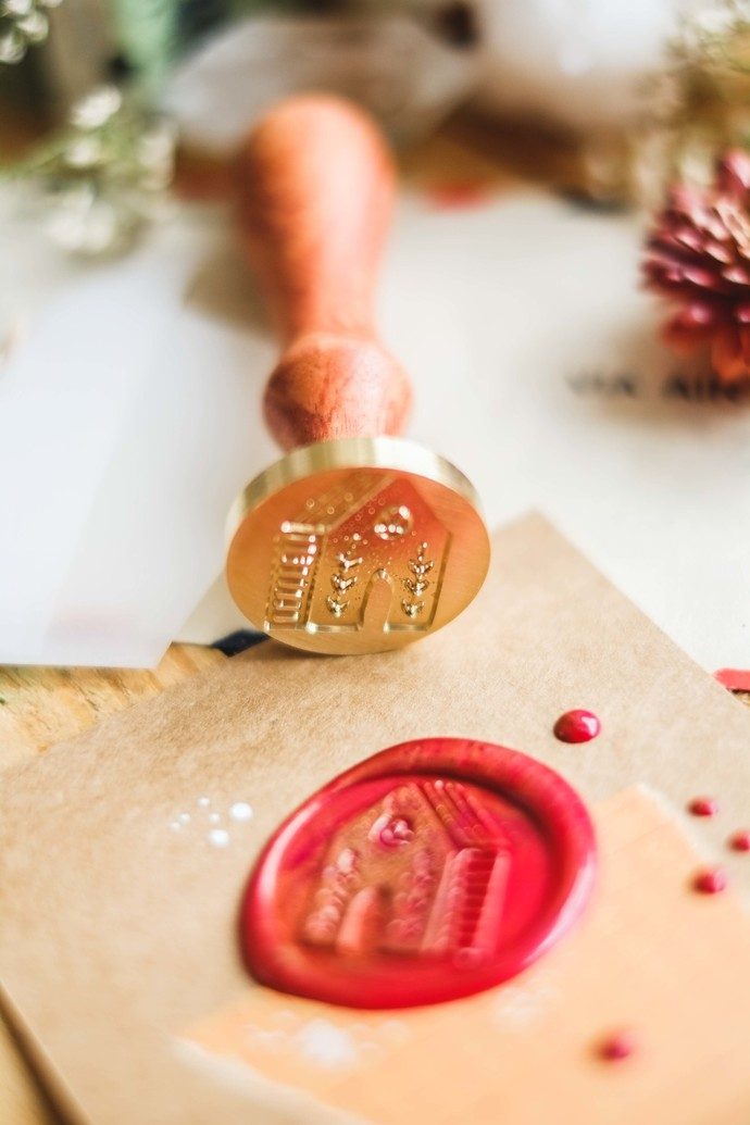 London Gifties wax seal - Nordic House - perfect as a gift for yourself & your