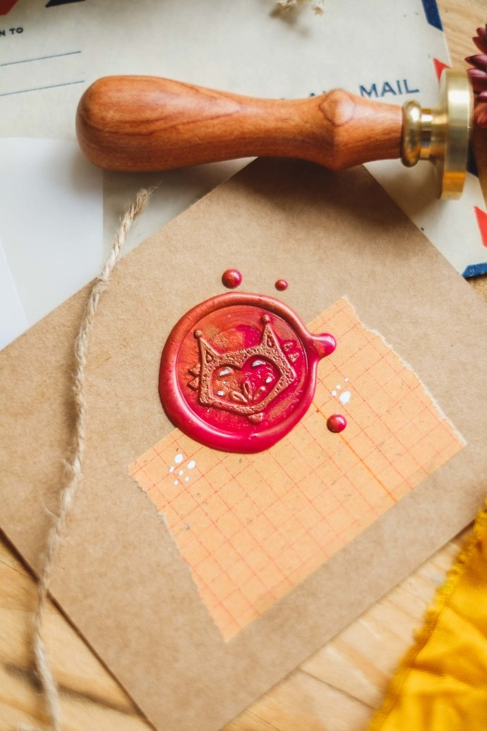 London Gifties wax seal - Nordic Fox - perfect as a gift for yourself & your