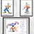 Goofy Set Disney, Goofy print, Goofy poster, home decor, nursery room, wall
