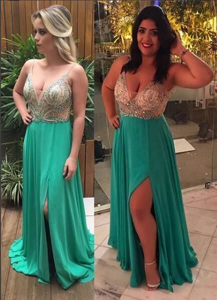 Beading Sexy Custom Made Backless Charming Prom Dress,Prom Dresses F7103