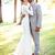 Plain Long Sleeve Mermaid Wedding Dresses 2019 Jewel Satin Garden Country Beach