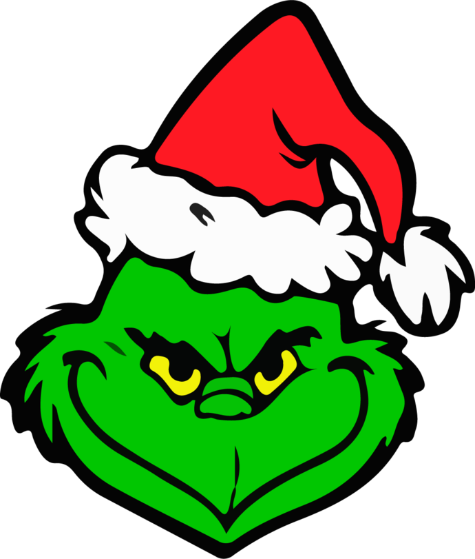 Grinch SVG, PNG Files for Children's Creativity