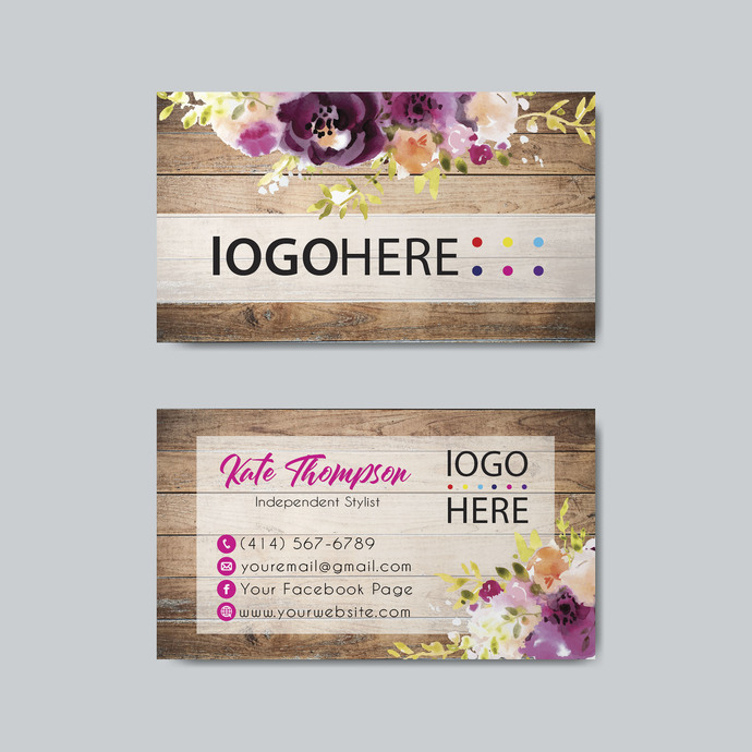 COLOR STREET BUSINESS CARDS, PERSONALIZED COLOR STREET APPLICATION CARDS CL23