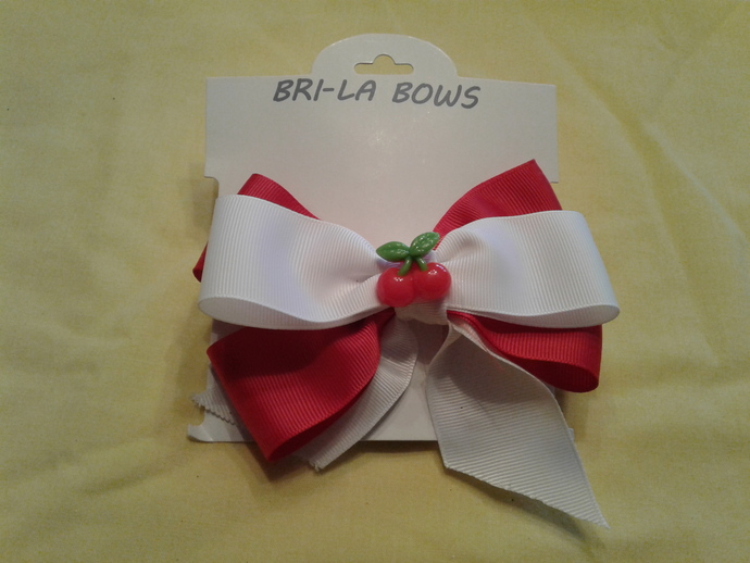 Spring-Summer hair bow
