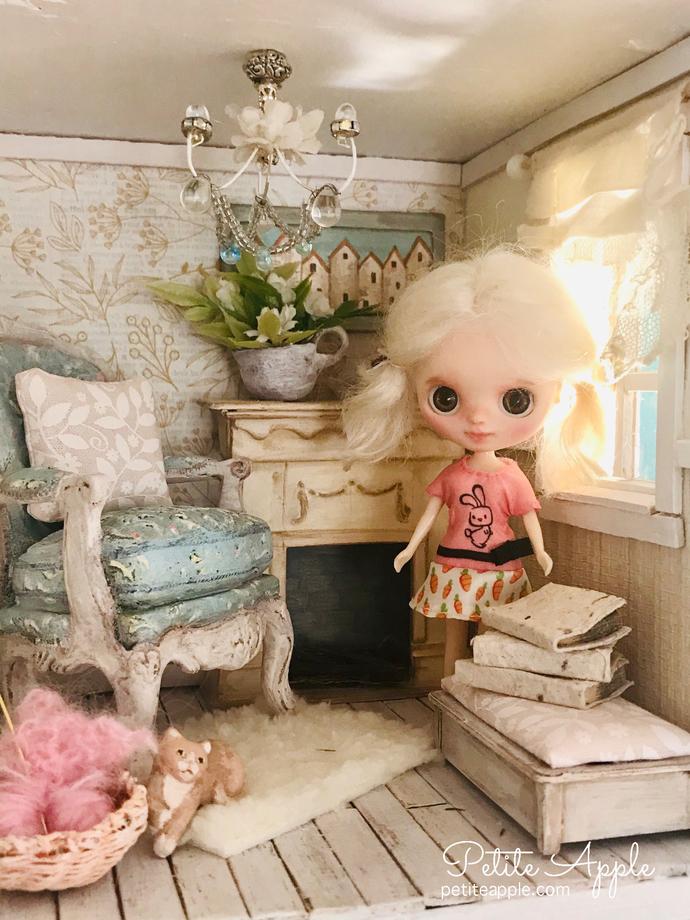 Petite Blythe custom doll - Primrose by Petite Apple #19