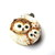 Tape Measure Realistic Owls Small Retractable Measuring Tape