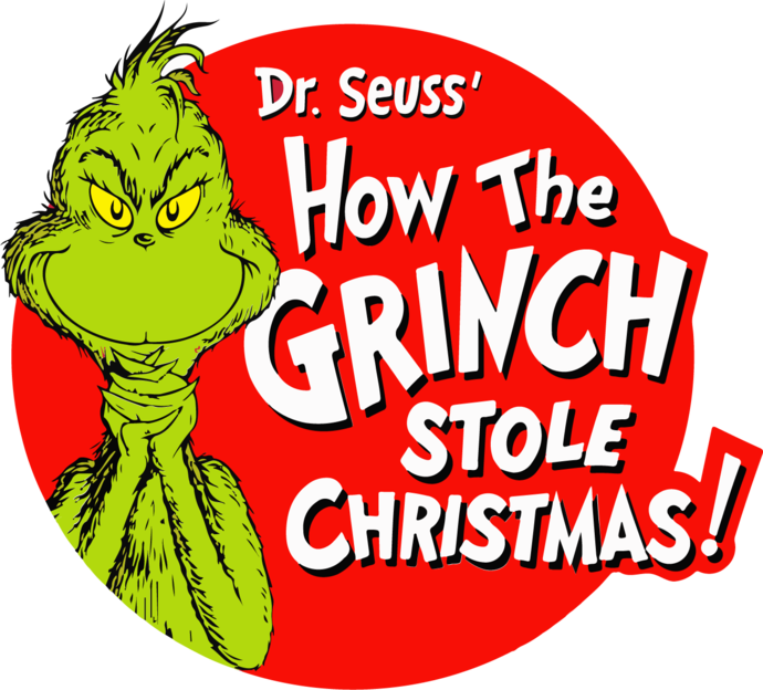 Grinch and The Cat in the Hat - Clipart Vector Art, Symbols and Logos