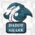 Daddy shark,  dad svg, daddy day svg, dad gift, dad appreciation, gift from