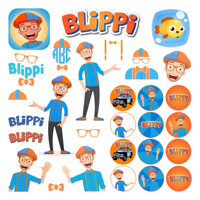 Blippi Library of Clipart Transparent Download