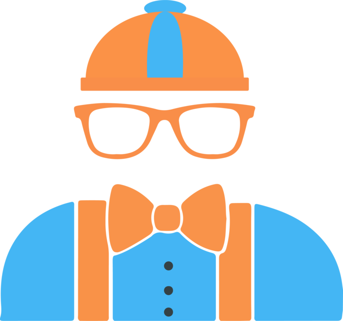 Blippi SVG and PNG Cliparts no Background