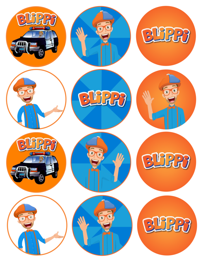 Blippi Clipart, Transparent PNG and SVG Images