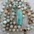 Tension be gone Long Beaded Necklace with Peruvian Opal Pendant Jewelry by