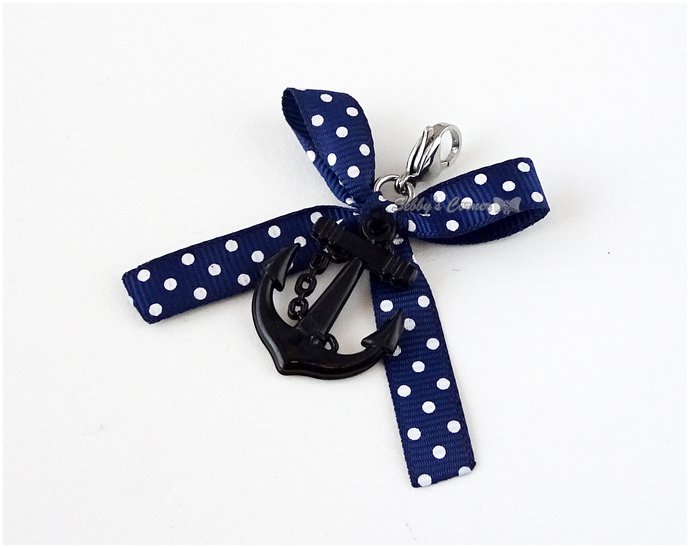 Sail Away Anchor Charm, Pet Collar Charms, Cat Lovers, Kitten Accessories, Photo