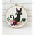 Black cat counted cross stitch pattern anime animal - Cross Stitch Pattern