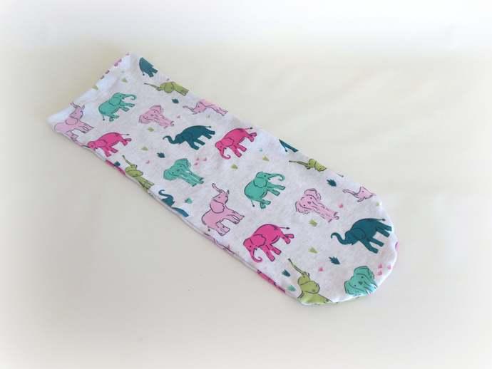 Elephant Swaddle Sack, Elephant Sleep Sack, Elephant Baby Scratch Mittens,