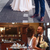 Plunge V-neck Long Satin Prom Dresses Open Back Evening Gowns, CD137