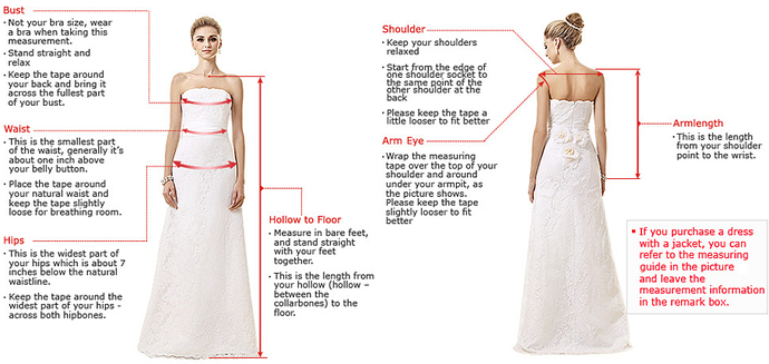 Spaghetti Straps V Neck Long High Low Ivory Homecoming Dress with Pockets 2662
