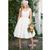 Princess Bridal Gowns Short Plus Size Champagne Sash Cap Sleeve Wedding Dresses