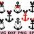 Mickey Mouse Anchor /Minnie Mouse Anchor/Anchor Disney/Anchor Rose Disney/Minnie