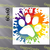 Animal Rescue Splattered Paw, 60x60 SC or C2C graph+written block coded