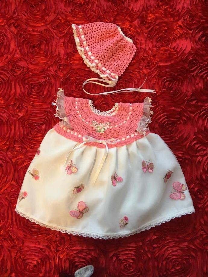 Bring Baby Home - French Rose and White