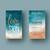 Teal Watercolor Rodan & Fields Business Cards, Personalized Rodan & Fields Cards