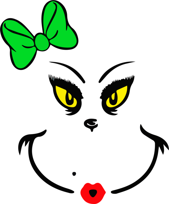 Grinch and Cat in the Hat Illustrations, Magic Bundle Vector Graphic