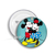 Mickey and Minnie Mouse BUTTON Pin Pinback Buttons Disney Badge Gift