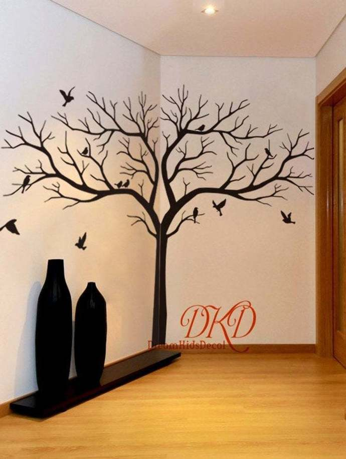 Tree Wall Decal Wall Sticker Tree Home Decor-Giant Tree Wall Sticker for