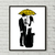 Couple counted cross stitch pattern yellow umbrella ted mosby love couple tv -