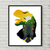 Park with dinosaurs counted cross stitch pattern silhouette movie dinosaurs