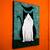 "12"" x 16"" Tuxedo Cat With Bird Palette Knife Original Cat Folk Art Painting"