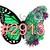 """Waterslide """"Succulent Butterfly 2"""" #2913-#2919"""