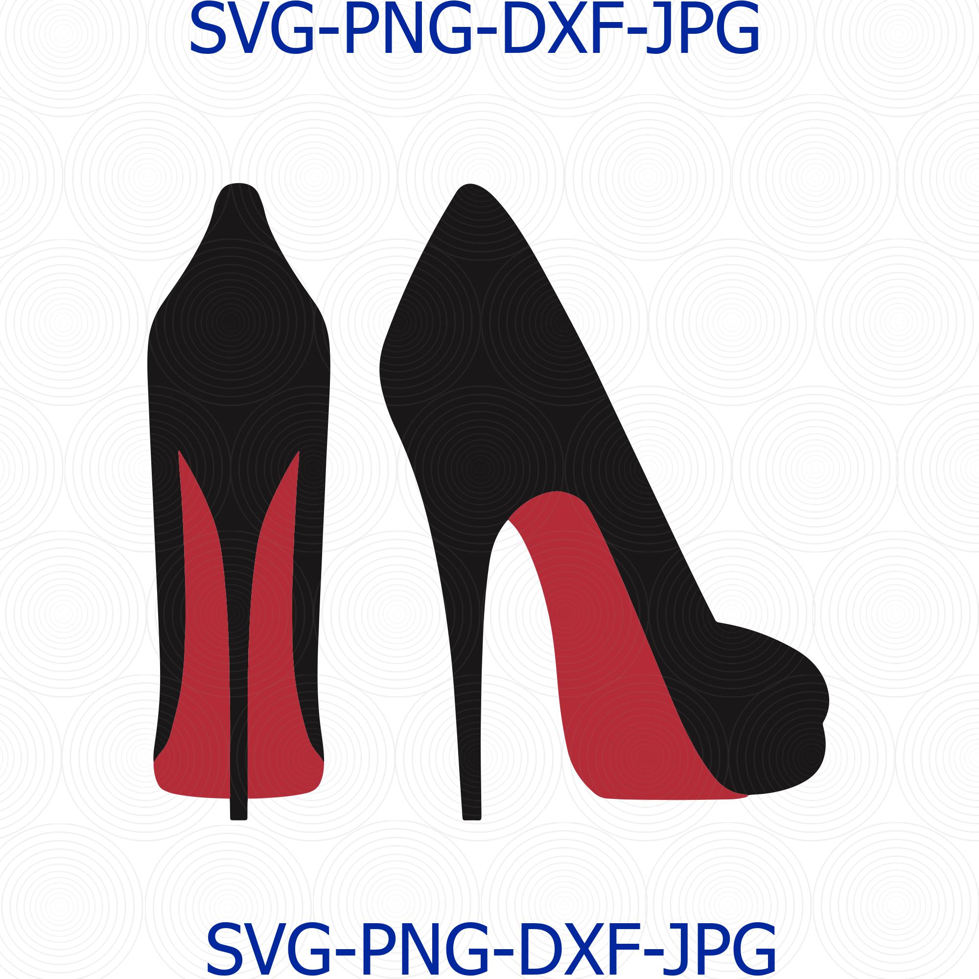 Svg High Heels Dxf Png High Heels Beauty By Digital4u On Zibbet