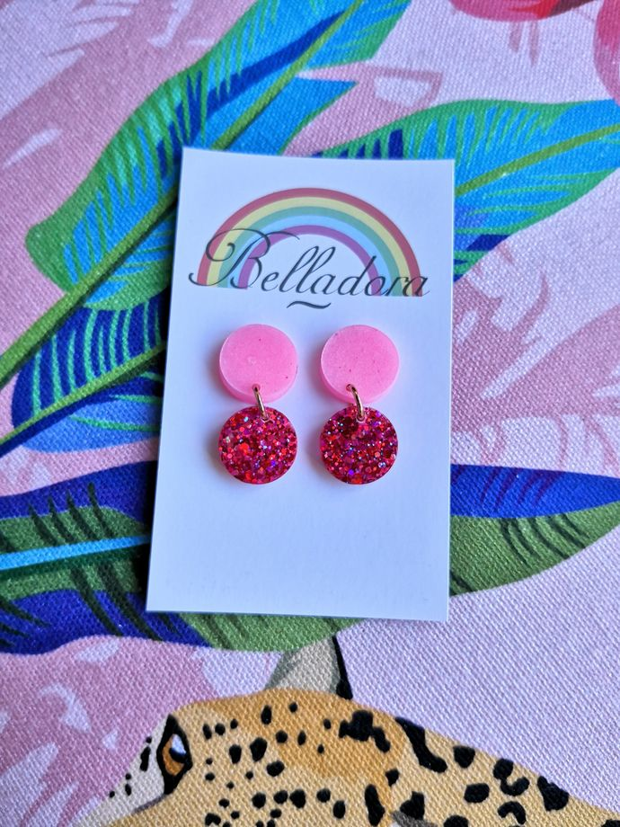 Itty Bitty - Pink and Red