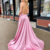 Charming Prom Dress,Satin Prom Gown,Spaghetti Straps Evening Dress,A-Line Prom