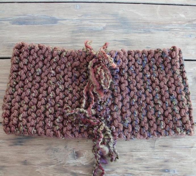 Winter Wear - Warm Brown Cowl Neckwarmer