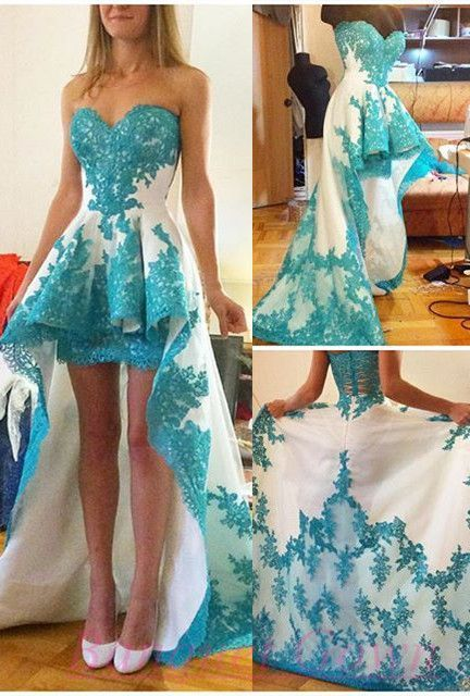 Charming Homecoimg Dress, Appliques Homecoimg Dress Sweetheart Short Prom Dress