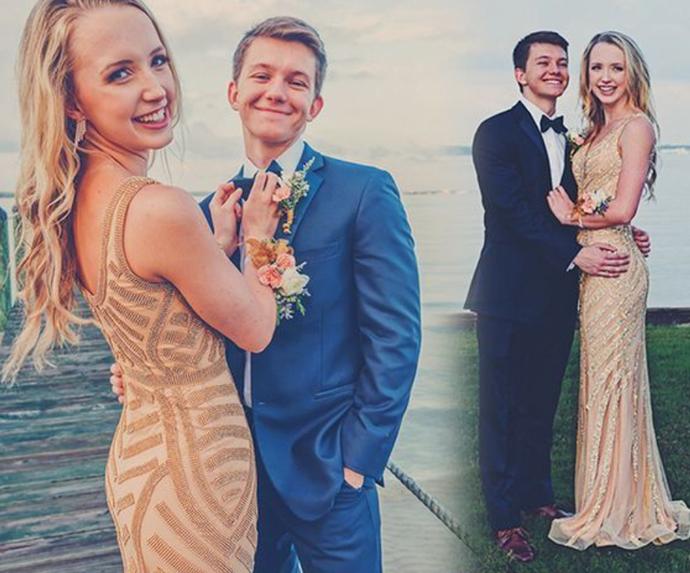 2020 long prom dress champagne sparkle evening dress