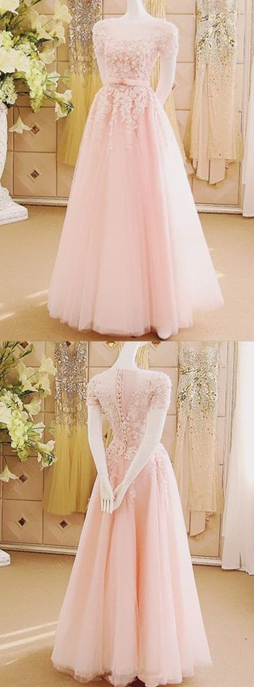 Prom Dress, Sexy Evening Gowns,Pink Prom Dresses, Pageant Prom Gown, Evening