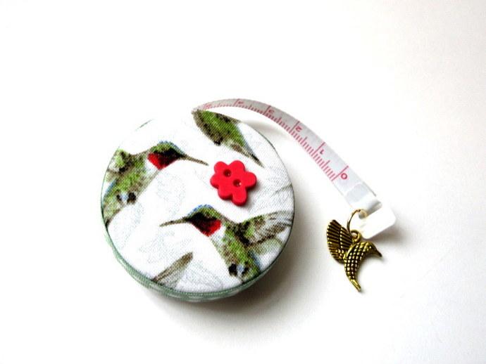 Measuring Tape Humming Birds Small Retractable Tape Measure