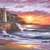 Lighthouse Sunset Cross Stitch Pattern***LOOK***X***INSTANT DOWNLOAD***