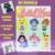 Sailor Moon Bundle SC includes graphs with color chart instructions