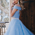 Two Piece Off The Shoulder Prom Dress Cheap Long Prom Dress, CD273