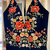 floral long prom dress 2020, black long prom dress