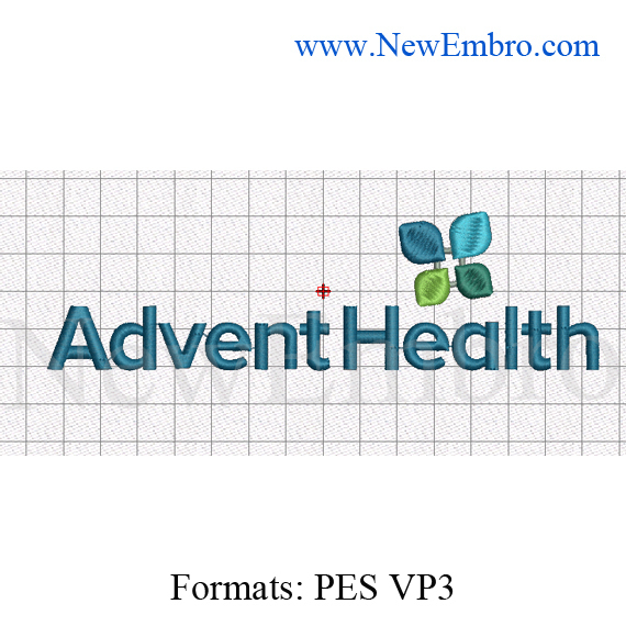 Custom embroidery design,health logo Custom embroidery embroidery pattern ,