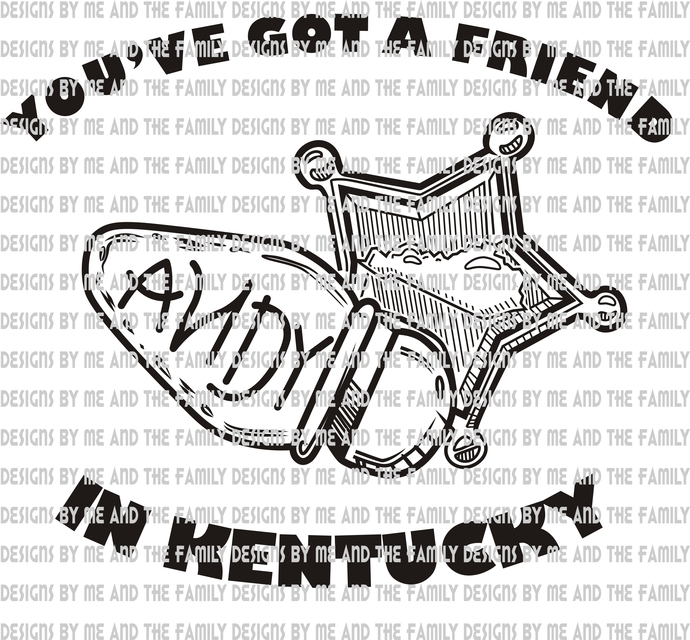 Andy you've got a friend in Kentucky, Andy is for Kentucky, Andy is our friend,